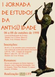 I Jornada de Estudos da Antiguidade